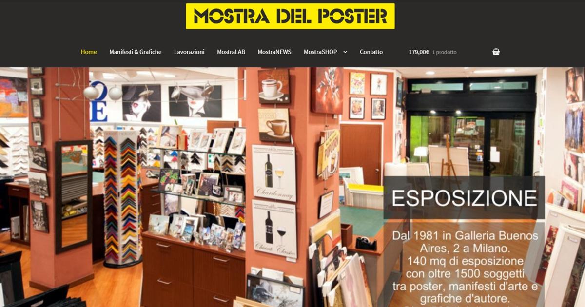 1e0b7cf2f3 Mostra del Poster, Manifesti, Grafiche e Cornici a Milano